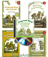 Frog & Toad 4 I Can Read Books & Audio CD Collection Days with Frog and Toad +++
