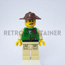 LEGO Minifigures - 1x adv024 - Johnny Thunder - Adventurers Omino Minifig 7422