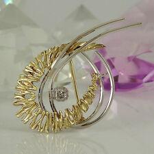 Broschen und Anstecknadeln aus Echtschmuck mit Diamant für Damen