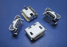 3 Pcs Micro USB Type B Female 5 pin SMD 4 pin Legs DIP Socket Connector