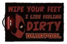 Deadpool (Dirty) Doormat GP85225 60 X 40cm Door Mat