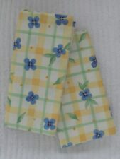 NAPKINS Pfaltzgraff SUMMER BREEZE Yellow Blue Green 18 Inch Cotton 6 Available