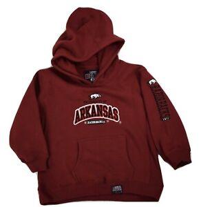 J. America Little Boys Arkansas Razorbacks Mega-Hood NWT S(4),M(5-6),L(7),XL(8)