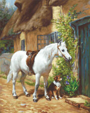 Counted Cross Stitch kit Luca-S - By the Cottage #B572
