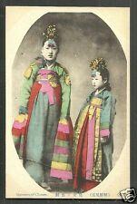 Woman Daughter BEAUTIES Costume Korea ca 1910