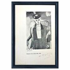 Henri Matisse Original Hand Signed Print  with COA