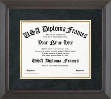 Executive Black Rope Diploma Frame