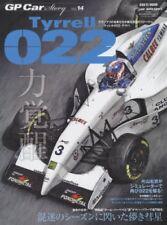 GP Car Story Vol.14 Tyrrell 022 Yamaha F1 Formula 1 Motor Japanese Magazine