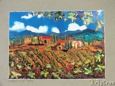 Studio Art Landscape Painting by Hawaiian Artist Linda Pirri with COA
