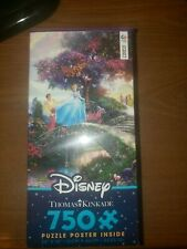 Thomas Kinkade Disney Cinderella Wishes Upon a Dream Puzzle 750 piece Ceaco NEW!