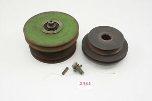 John Deere 110 Garden Tractor PTO Clutch Assembly Square Fender 112 Pulley
