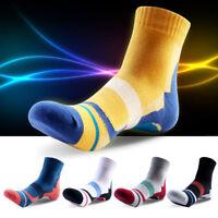 1 Pair Men Summer Cotton Crew Socks Casual Dress Sports Basketball Ankle Socks