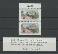 """BERLIN ABART 822 II PLATTENFEHLER PF """"Punkt im Sims"""" postfrisch ** Mi 35.- m1210"""