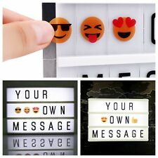 Message Board Party A6 DIY Cinematic Cinema Light Up Letter Box Sign Lightbox