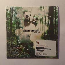 Telepopmusik - Angel Milk - Promo CD Album - Card Sleeve