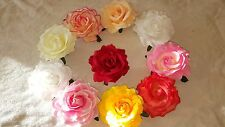 Joblot 36 BURLESQUE ROSE Flower FLAMENCO DANCER Hair clip broach New wholesale