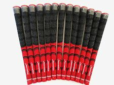 "13pcs Innovation .58"" Multicompound Decade Standard Cord Grip Pride Red/Black"