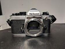 Nikon FM2 Silver Analog Film Camera 35mm Working Condition
