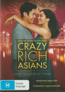 Crazy Rich Asians [DVD] [2018] NEW AND SEALED