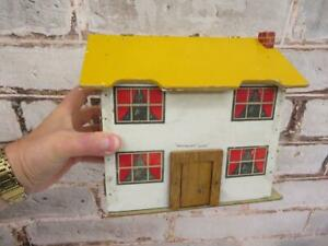 really old doll DOLLS house shoe box size