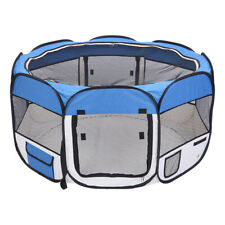 """Us 36"""" Pet Portable Play Pen Exercise Kennel Tent Dog Playpen Soft Folding Crate"""