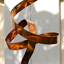 Copper Modern Abstract Metal Sculpture by Jon Allen -  Copper Perfect Moment