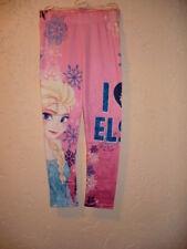 Disney Frozen Die Eiskönigin Leggins Elsa Größe 110 - 116 Mehrfarbig NEU & OVP
