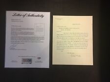 Robert Todd Lincoln Autographed 12/4/1902 Letter PSA/DNA LOA Pullman Letterhead