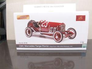 CMC M - 186 MERCEDES TARGA FLORIO 1924 #23 ALFRED NEUBAUER  L/E 1:18