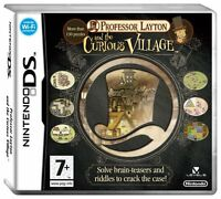 PROFESSOR LAYTON AND THE CURIOUS VILLAGE NINTENDO DS