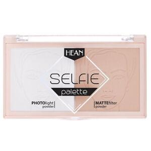 Hean Selfie Makeup Setting Palette 18g Mattifying Corrective Fixing Powder Silky