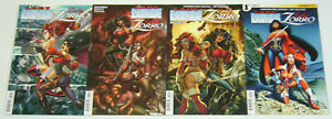Lady Rawhide/Lady Zorro #1-4 VF/NM complete series - bad girl comics set lot 2 3