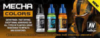 Vallejo Mecha Color Impact Proof Airbrush Gundam Paint Pick any 17ml scroll down