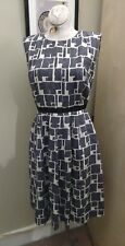 Banana Republic Vintage Mad Men Style SILK Dress Sz 2