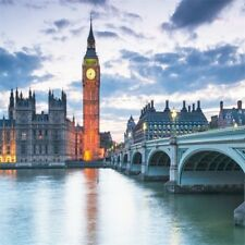 London Big Ben Bell Tower Photography Backgrounds 8x8ft Studio Backdrops Props