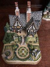 David Winter Cottage Castles - Spencer Hall Gardens Premier #22 & Falstaff Manor
