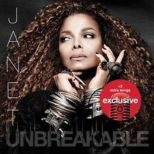 Janet Jackson Unbreakable LIMITED EDITION COVER + 2 EXCLUSIVE BONUS TRACK SEALED