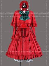 Rozen Maiden Shinku Uniform Lolita Party Dress Cosplay Costume