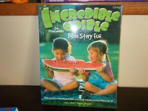 Incredible Edible Bible Story Fun for Preschoolers 40 Favorite Bible Stories