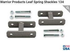 "Chevy S10 K20 K10 C30 69-91 1.5""  Front Lifted Leaf Spring Shackles BLAZER K5 GM"