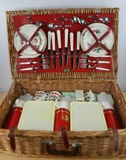 More details for vintage brexton picnic hamper 6 person all genuine original items ex.condition