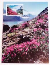 Greenland Maximum Card 2009.09.16. SEPAC Landscapes - EXCELLENT