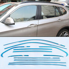 12pcs Stainless Steel Chrome Full Window Frame Sill Trim For BMW X1 2011-2015