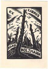 ADOLF DOLEZAL: Exlibris für Karel Holzmann, 1928