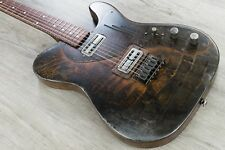 James Trussart Custom Rust O Matic Gator Deluxe SteelCaster Electric Guitar