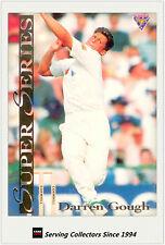 1994/95 Futera Cricket Trading Cards Super Series SS33 Darren Gough (England)