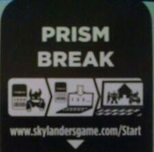 Prism Break Skylanders Spyro's Adventures Code Only!