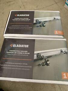 Gladiator Fishing Pole Holder/ Hooks 2pr (4 Hooks Total) Use W/ Panels Channels