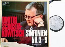 Chostakovitch Symphonie 3 & 9 KONDRASHIN blaschkow LP EURODISC 85314 MK Presque comme neuf
