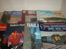 Railroad Magazine Mixed Lot, 8 Magazines, Ctc Board, Model Railroader